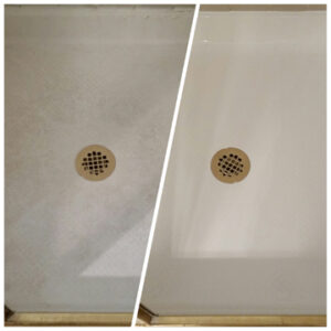 Shower floors can be made from Acrylics