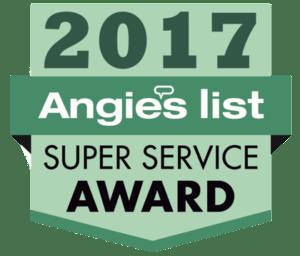 2017 Angie's List Award Winner